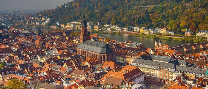 Altstadt vom Schloss aus