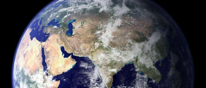 Erde - Welt - Globus