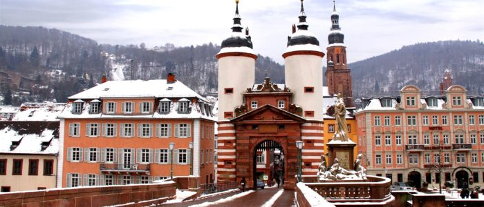 Alte Brücke Winter
